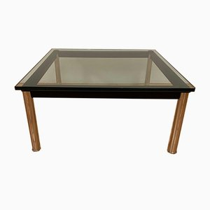 Italian Model LC10 Coffee Table by Le Corbusier for Cassina, 1980s