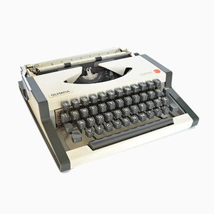 German Model 33 Typewriter from AEG Olympia, 1970s