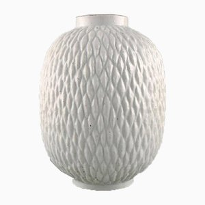 Milk Glazed Vase by Gunnar Nylund for Rörstrand, 1950s