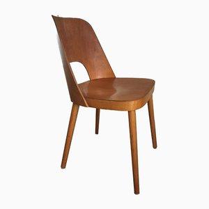 Esszimmerstuhl aus Schichtholz von Oswald Haerdtl für Thonet, 1950er