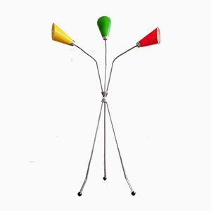Lámpara de pie modelo S 101 Mid-Century de Lidokov Boskovice, años 60