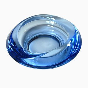 Glass Dish from Sklo Union, 1960s