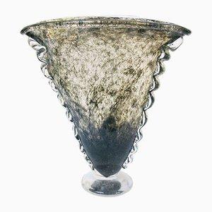 Vase en Verre de Murano par Ercole Barovier pour Barovier & Toso, 1930s