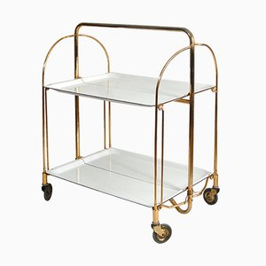 German Folding Bar Trolley from Gerlinol, 1960s