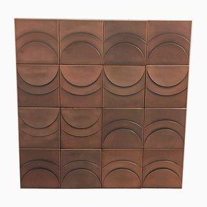 Panel decorativo, años 70
