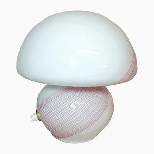 Vintage Tischlampe aus Muranoglas