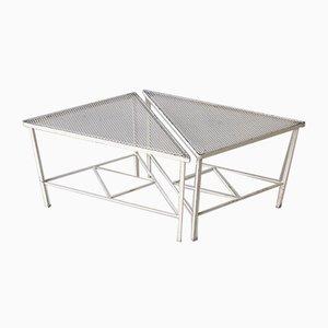 Tavolini in metallo di Artimeta, Paesi Bassi, anni '50, set di 2