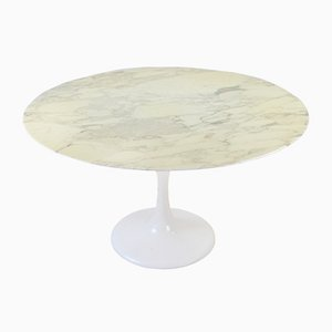 Mid-Century Marble Tulip Dining Table, 1960s
