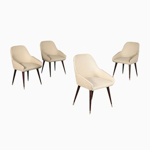 Side Chairs, 1960s, Set of 4