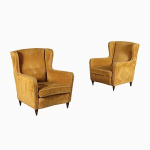 Armchairs, 1950s, Set of 2