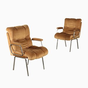 Vintage Beistellstühle, 2er Set