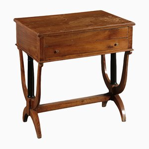 19th Century Italian Walnut Work Table