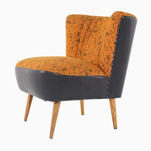 Fauteuil Cocktail Orange, 1960s
