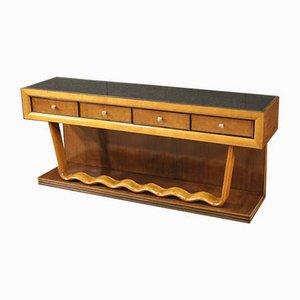 Consola de madera, años 60