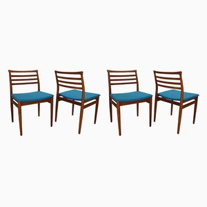 Teak Dining Chairs by Erling Torvits for Sorø Stolefabrik, 1960s, Set of 4