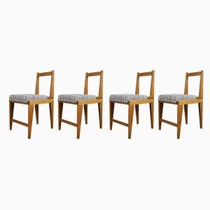 Esszimmerstühle von Augusto Romano, 1950er, 4er Set