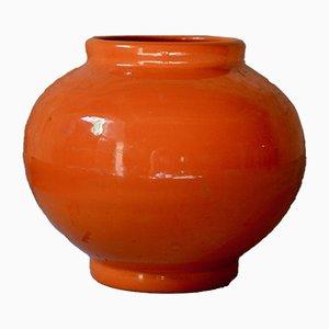 Niederländische Art Déco Vase von Manufacture Royale Hollandaise, 1930er