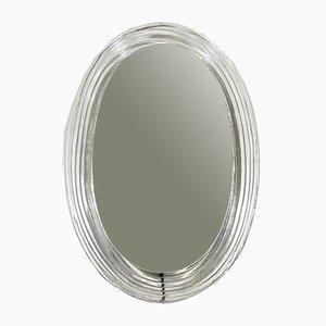 Specchio con luce di Hillebrand Lighting, anni '60