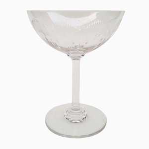 Champagne Glass from Baccarat, 1920s