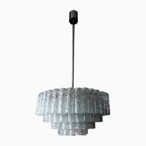 Lámpara de araña de Doria Leuchten, años 60