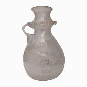 Venezianische Vase aus mundgeblasenem Glas, 1980er