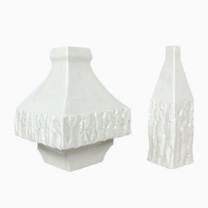 Vases Mid-Century par Peter müller pour Sgrafo Moderne, Set de 2
