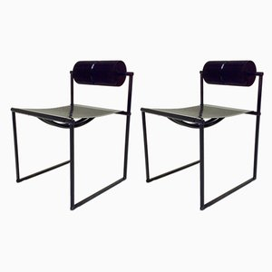 Dining Chairs by Mario Botta for Alias, 1982, Set of 2