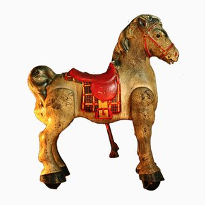 English Horse Toy from Mobo Toys, 1950s