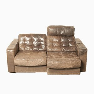 Leather Sofa from de Sede, 1960s