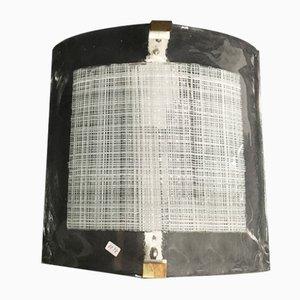 Applique vintage in vetro di Murano di i3