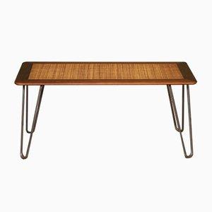 Table Basse en Rotin, 1960s