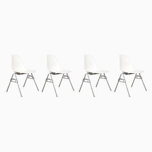 Dining Chairs by Charles & Ray Eames for Vitra, 1990s, Set of 4