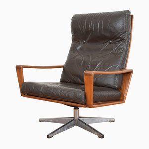 Swivel Lounge Chair by Arne Wahl Iversen for Komfort, 1960s