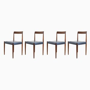 German Dining Chairs from Lübke, 1960s, Set of 4