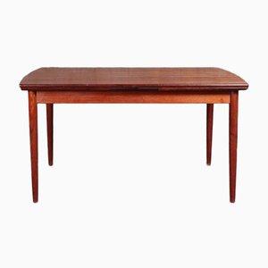 Mid-Century Scandinavian Teak Rectangle Dining Table
