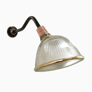 Industrial Swan Neck Sconce from Holophane, 1940s