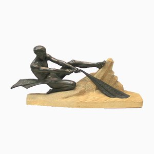 Sculpture by Max Le Verrier, 1940s