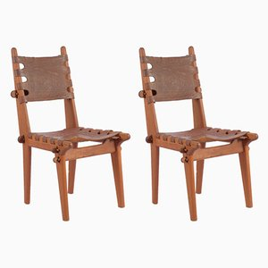 Mid-Century Dining Chairs by Angel I. Pazmino, Set of 2