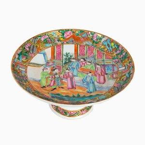 Coupe Antique en Porcelaine de Satsuma