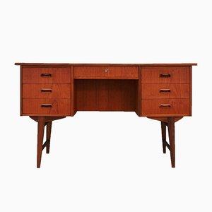 Dänischer Schreibtisch aus Teak, 1970er