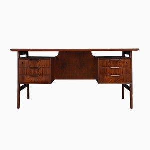 Schreibtisch aus Palisander von Omann Jun, 1970er