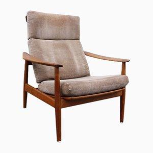 Teak Model FD-164 Lounge Chair by Arne Vodder for France & Søn / France & Daverkosen, 1960s