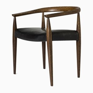 Wenge Armchair by Nanna Ditzel for Poul Kolds Savvæerk, 1960s