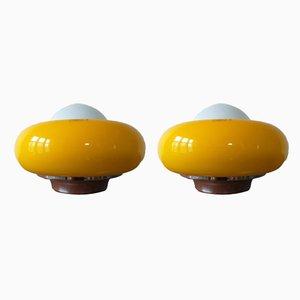 Tischlampen von Meblo, 1970er, 2er Set