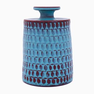 Vase von Stig Lindberg für Gustavsberg, 1950er