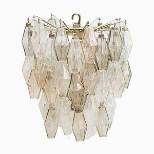 Lámpara de techo Mid-Century de Carlo Scarpa para Venini, años 50