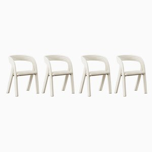 Dining Chairs by Axel Enthoven from Rohé, 1970s, Set of 4