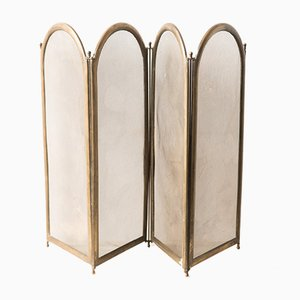 Antique Brass Room Divider