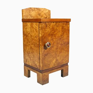 Vintage Art Deco Nightstand from Busnelli Milano