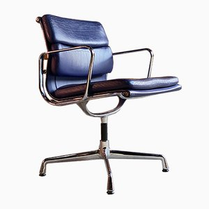 Model Soft Pad EA208 Swivel Chair by Charles & Ray Eames for Vitra, 2000s